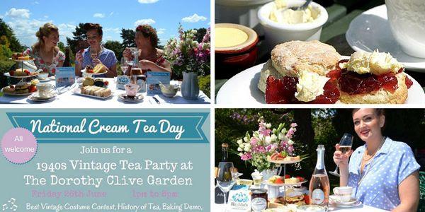 National Cream Tea Day