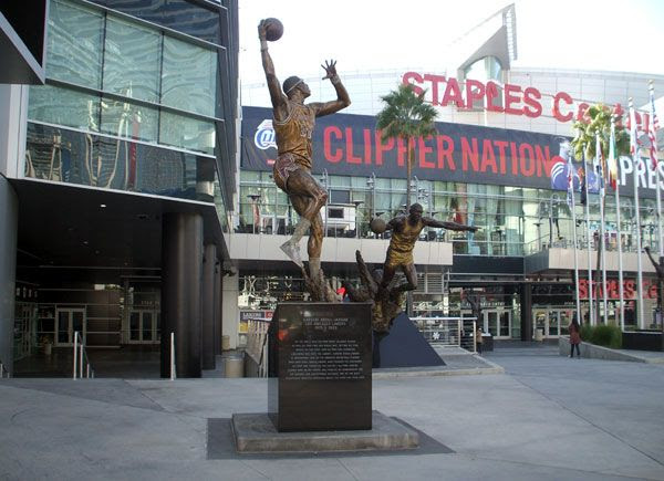 Do you notice the irony in this picture? Friggin' Clippers.