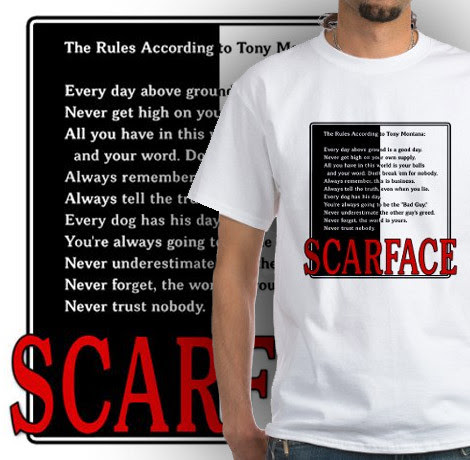 Scarface Rules T Shirt