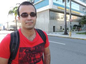Desenvolvedor tem dúvidas quanto a eficácia da Zona 30 do Recife Antigo (Foto: Katherine Coutinho / G1)