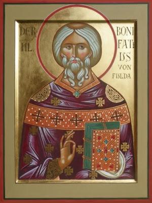 Αποτέλεσμα εικόνας για Heilige Lioba, Äbtissin von Tauberbischofsheim, englischer Missionar in Deutschland