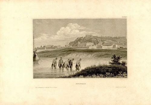 Beograd by Johann Poppel, 1850