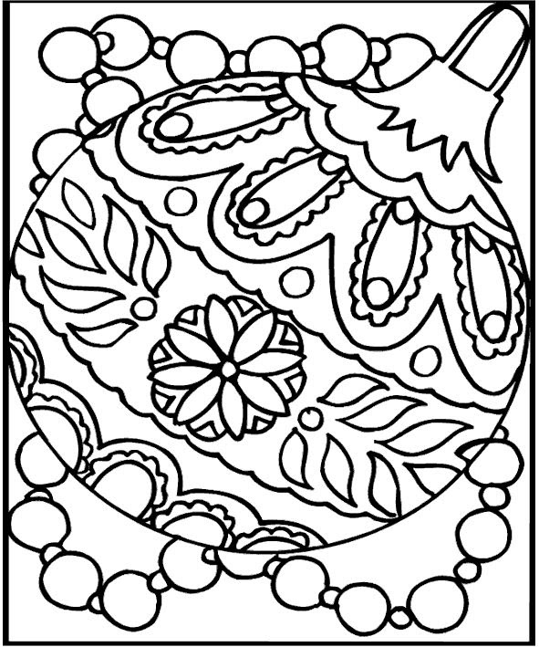Free Printable Coloring Sheets For Kids Christmas