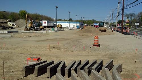 Big Y - entrance taking shape