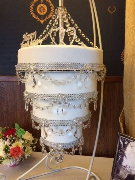 Chandelier Cake Stand by Cake Stackers?