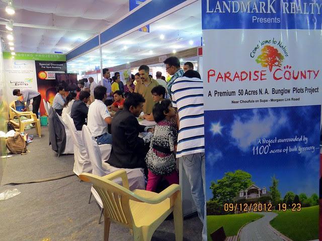 Pune Property Exhibition - Sakal Vastu - Property Expo - December 2012 - 13