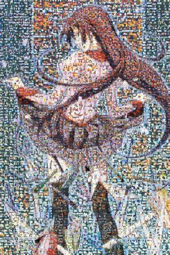 bakemonogatari mosaic art pcs jigsaw puzzle