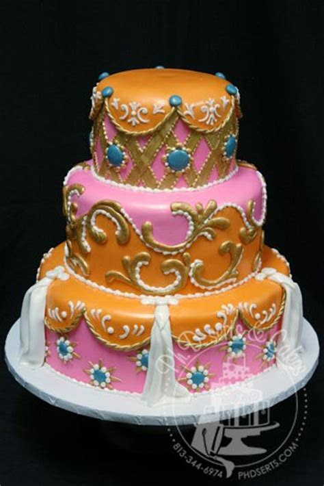 93 best images about Exotic Henna Inspired Cakes on