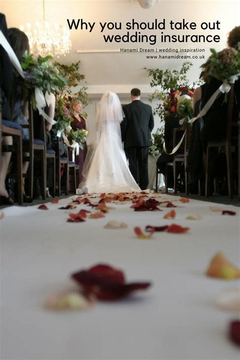 Why you should take out wedding insurance   Hanami Dream