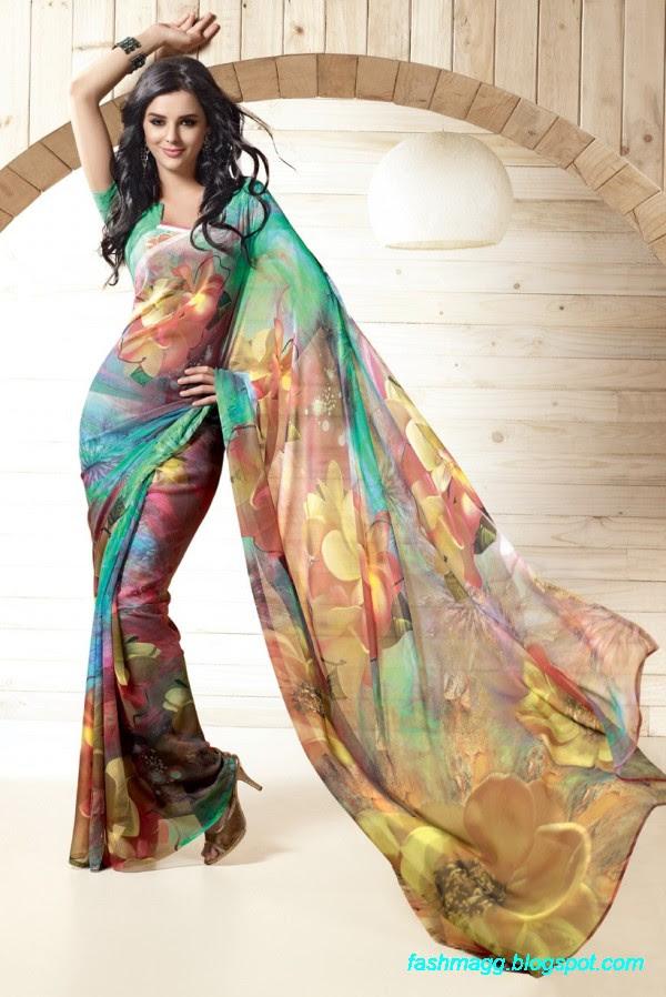 Printed-Saree-Indian-Pakistani-Beautiful-New-Fashionable-Sari-Collection-2013-3