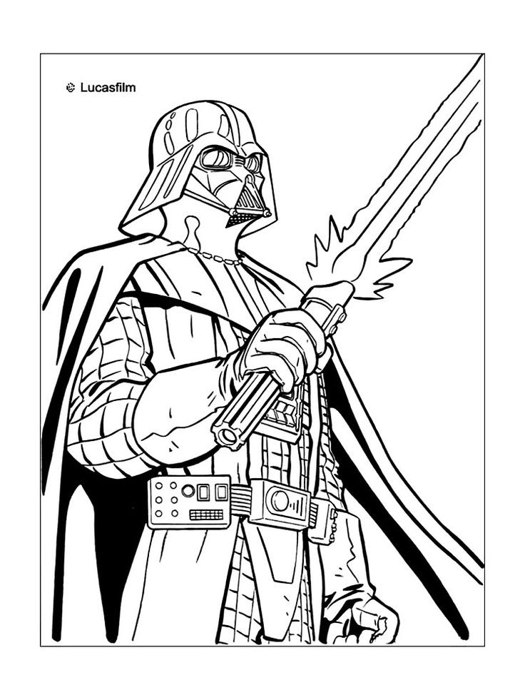 630 Coloring Book Pages Star Wars For Free