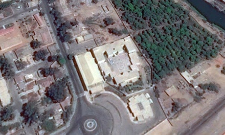 Azouli jail in the military base in Egypt