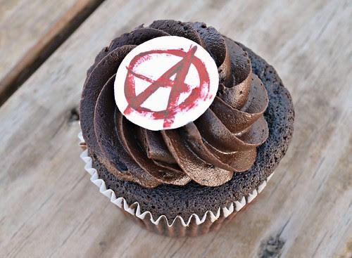 Anarchy Cupcake
