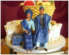 traditional wedding cakes in nigeria. Top photo by Dotun