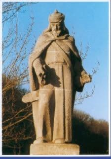 Estatua Moro Abengalbón - Puente San Pablo - Burgos