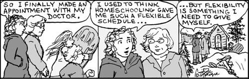 Home Spun comic strip #705
