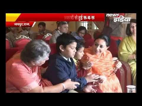 विकलांग दिवस पर City Place Jaipur में कार्यक्रम, Diya Kumari | Nims International School