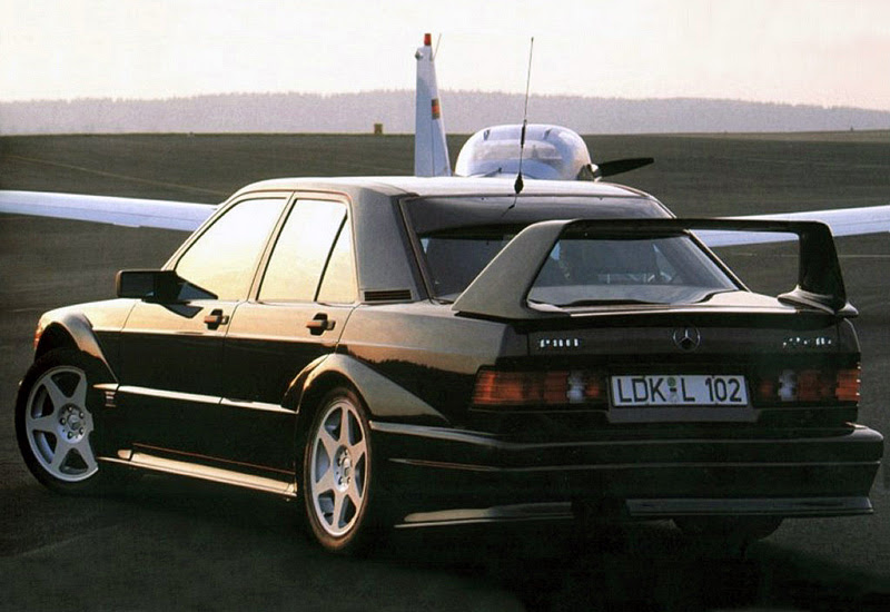 1990 Mercedes-Benz 190E 2.5-16 Evolution II (W201) - specifications, photo, price, information ...