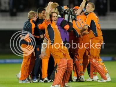 netherlands upset England twenty20