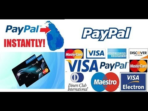 WITHDRAW MONEY TO SRILANKA USING PAYPAL