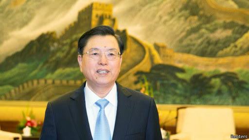 人大委员长张德江