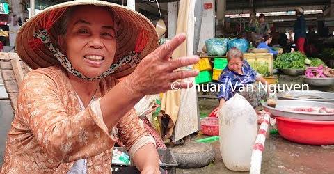 Vietnam || Thap Muoi Rural Market || Dong Thap Province