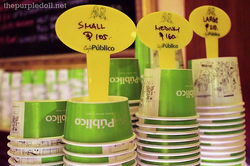 Cafe Publico Gelato Cups