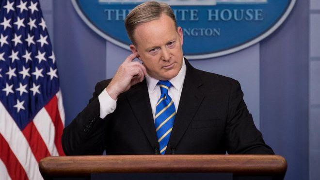 Thư ký báo chí của Nhà trắng, ông Sean Spice