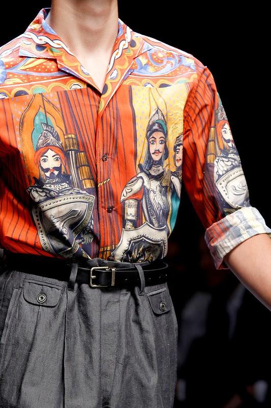 Dolce&Gabbana Men's Show SS 2013_1