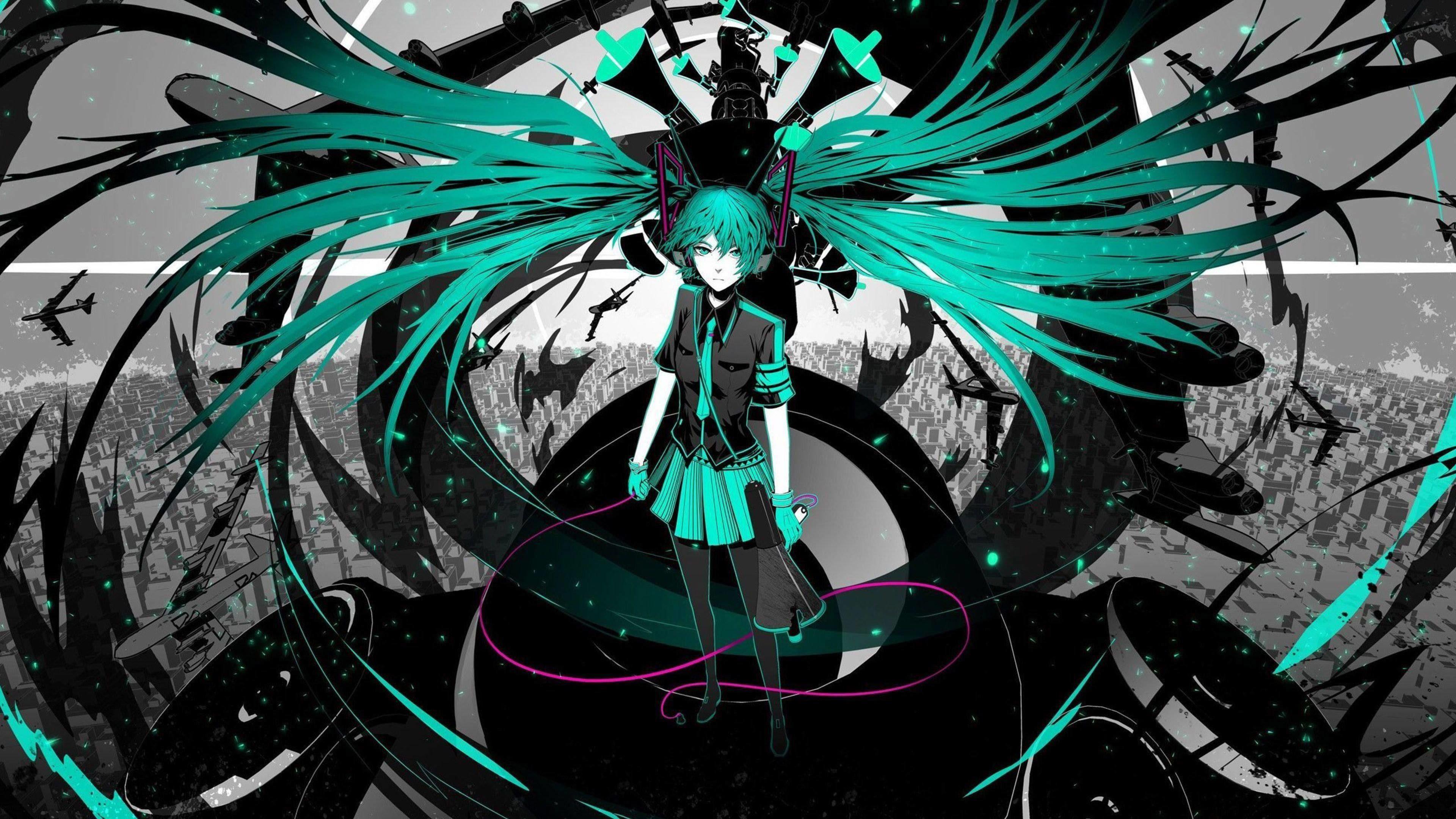 Unduh 76 Wallpaper Hd Anime Hatsune Miku HD Terbaik