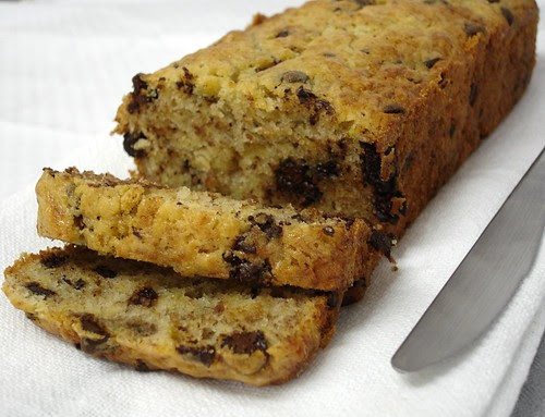 Bill's choc banana bread