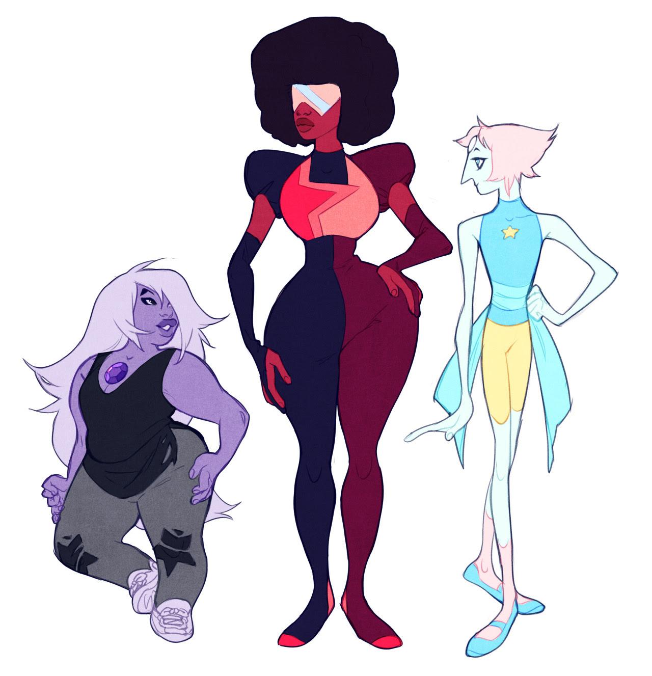 More body shape experiments ft. gem ladies.