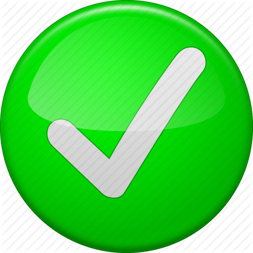 Check Confirm Ok Button Tick Yes Icon 3107 Free Icons And Png Backgrounds