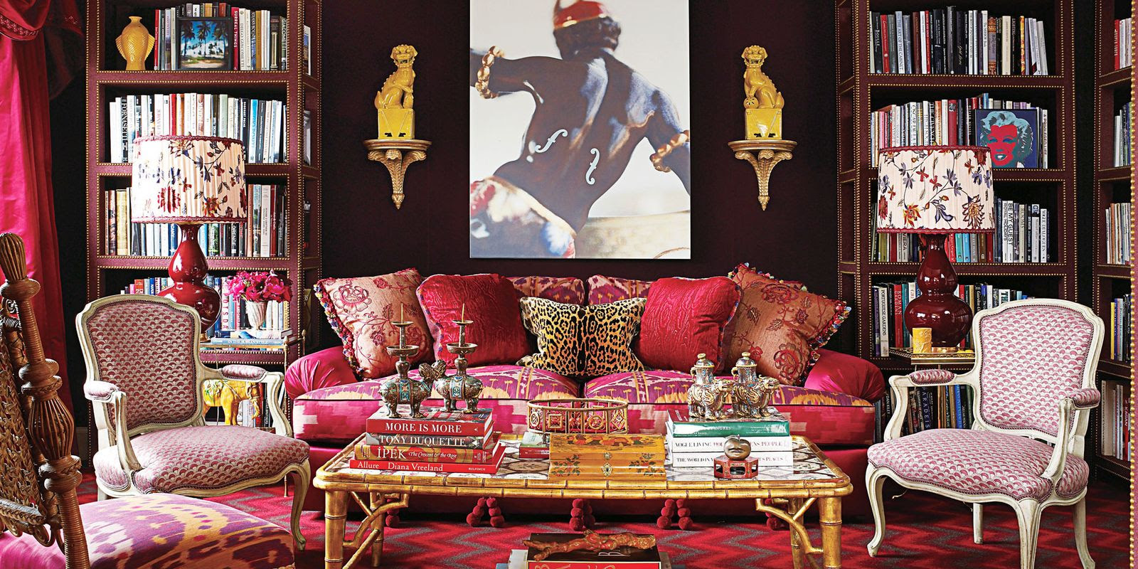 Maximalist Decor Style - Maximalist Rooms