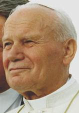 Pope John Paul II on 12 August 1993 in Denver ...