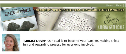 TLC Graphics blogs for self publishers