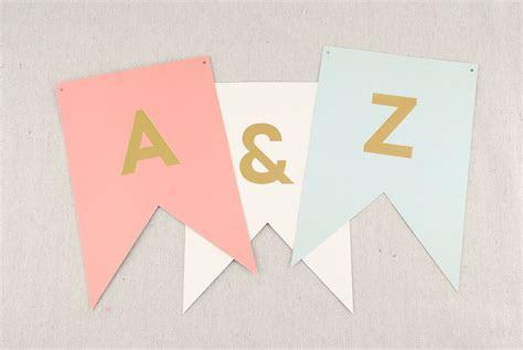 Letter Banner Pastel (46 letters)