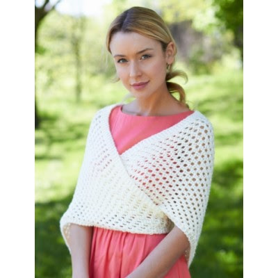 Knit Triangular Shawl
