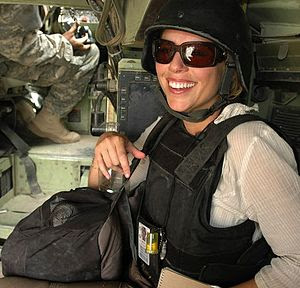 Picture of CBS News correspondent Lara Logan o...