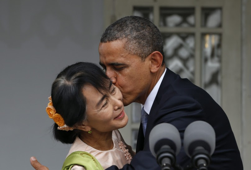 Obama ya está en Birmania