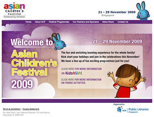 Asian Children's Festival (ACF) 2009