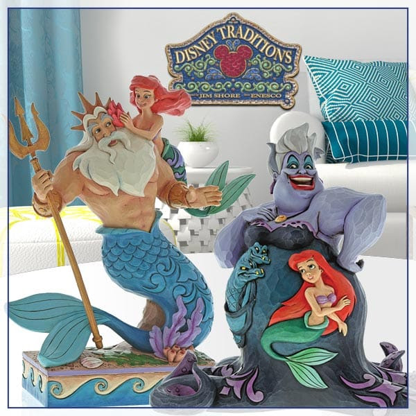New Little Mermaid Figurines From Jim Shore Uk Jimshoreuk