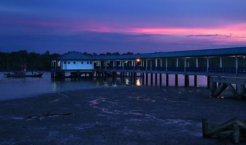 IMG_0495-w Sunet at Pulau Ketam Jetty