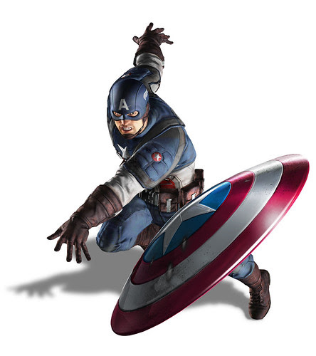 Captain America: Next Gen Render