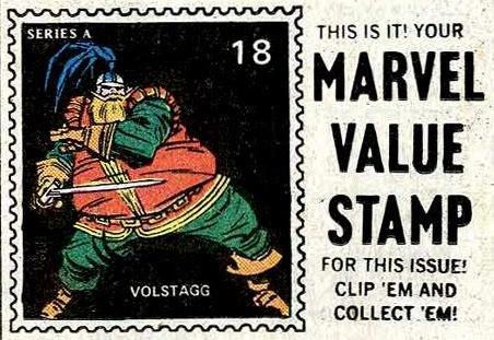 Marvel Value Stamp #18