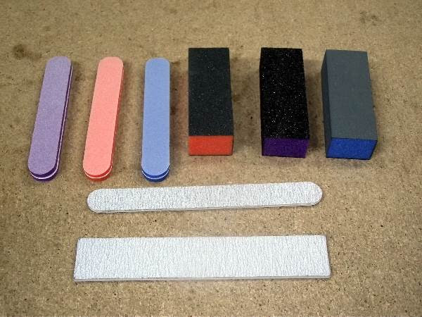 MFS Super Set of Files and Sponges 9 pieces #010