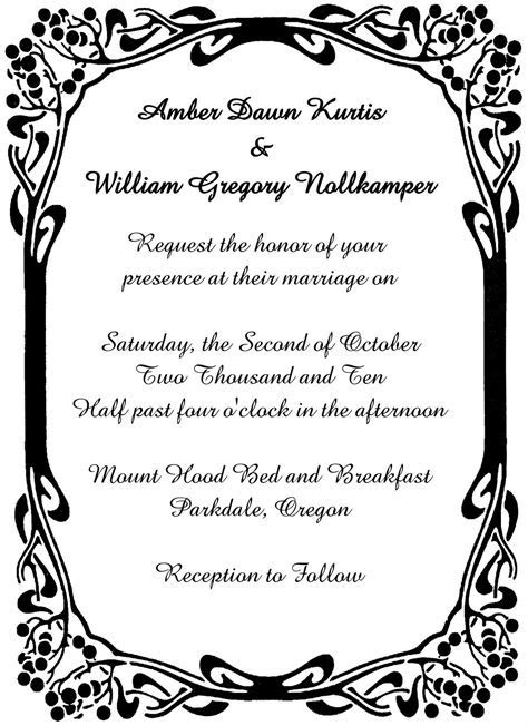 wedding invitation border   Reference Wedding Decoration