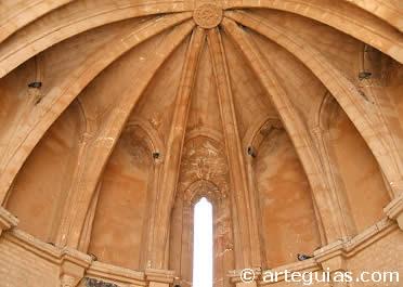 Bóveda de crucería de la iglesia de San Martín