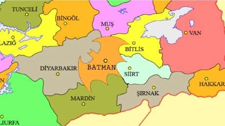 Petition aims to shape Turkey's Batman province like superhero logo
