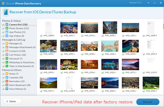 How to Recover iPhone\/iPad Data after Factory Settings Restore